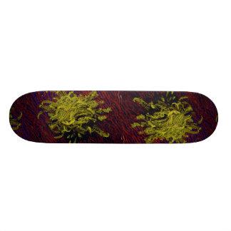 Crinoid crawling to the top of a sea fan skateboard decks