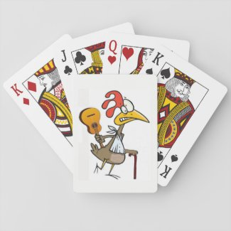 Crippled Chickens Playing Card Deck