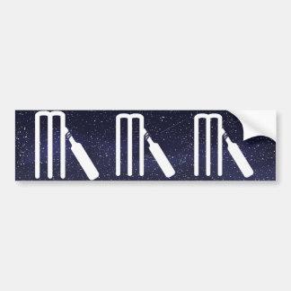 Criquets Minimal Bumper Sticker