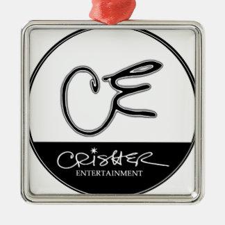 Crisher Entertainment | Music, Artist, Design, PR Silver-Colored Square Decoration