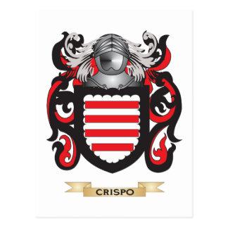 Crispo Coat of Arms Postcard