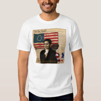 Crispus Attucks American Black War Hero 1770 T Shirt