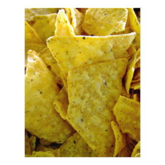 Crispy Yellow Corn Chips Personalized Flyer
