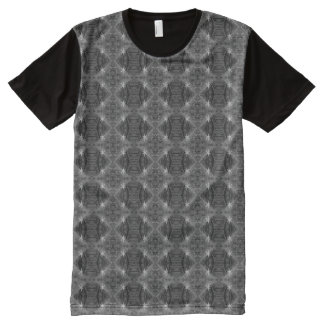 Criss-Cross All-Over Print T-Shirt