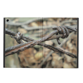 Criss-Cross Barbed Wire iPad Air Case