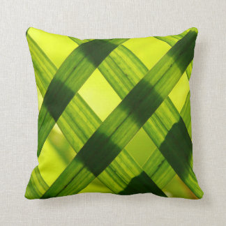 Criss Cross Leaves Pillow