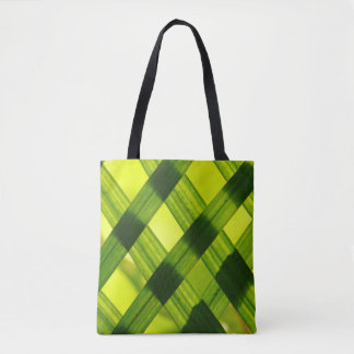 Criss Cross Leaves Tote