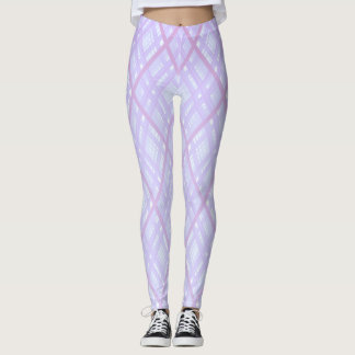 Criss-Cross Lilac Leggings