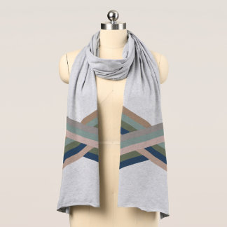 Criss Cross Stripe Scarf