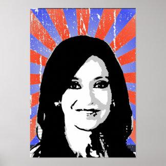 Cristina Fernandez de Kirchner Poster