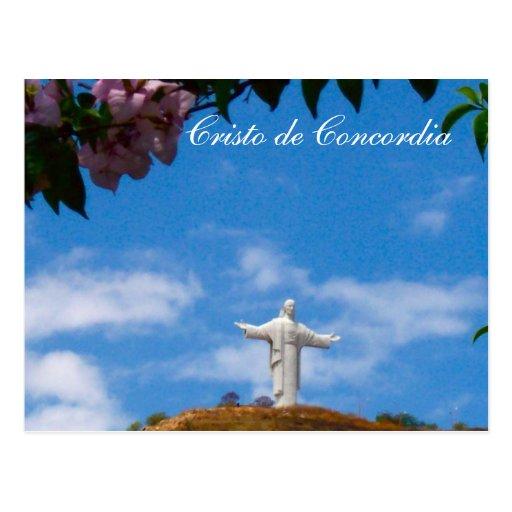 Cristo de Concordia Statue of Jesus | Zazzle