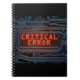Critical error concept. notebooks