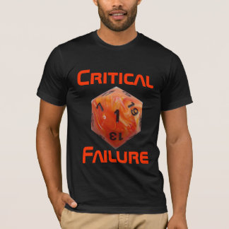 Critical Failure - Miscon 25 - Basic T-Shirt