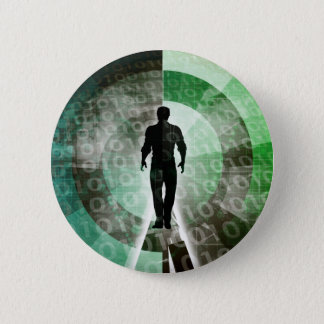 Critical Technology Skills and Important Industry 6 Cm Round Badge