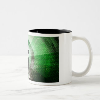 Critical Technology Skills and Important Industry Two-Tone Coffee Mug