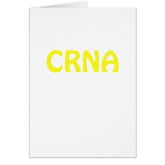 CRNA CARD