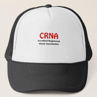 CRNA Certified Registered Nurse Anesthetist Trucker Hat