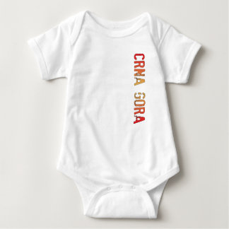 Crna Gora (Montenegro) Baby Bodysuit