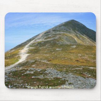 Croagh Patrick mountain Mouse Pad