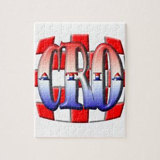 CROATIA 001 PUZZLE
