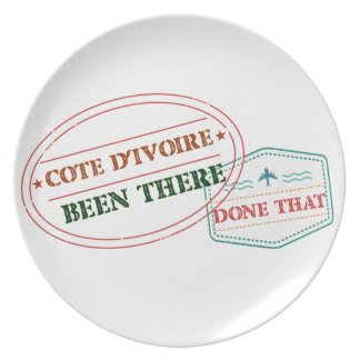 Croatia Been There Done That Plate