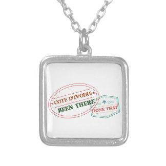 Croatia Been There Done That Silver Plated Necklace