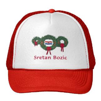 Croatia Christmas 2 Cap