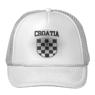 Croatia Coat of Arms Cap