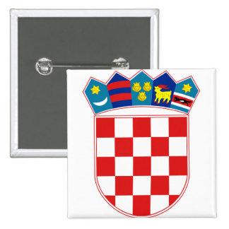 Croatia Coat of arms HR Hrvatska 15 Cm Square Badge