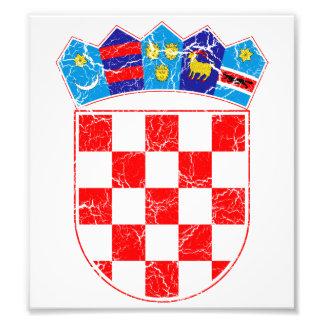 Croatia Coat Of Arms Photo Print