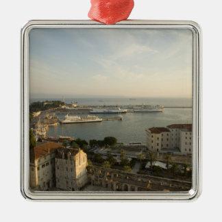 Croatia, Dalmatia, Split. View of Riva Metal Ornament