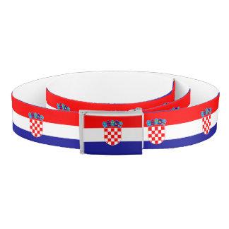 Croatia Flag Belt