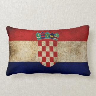 croatia flag pillow