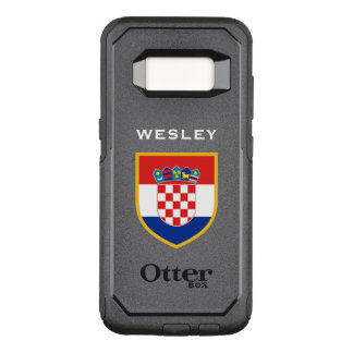 Croatia Flag Customized OtterBox Commuter Samsung Galaxy S8 Case