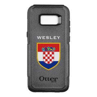 Croatia Flag Customized OtterBox Commuter Samsung Galaxy S8+ Case