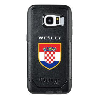 Croatia Flag Customized OtterBox Samsung Galaxy S7 Edge Case