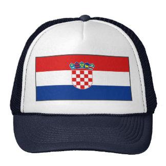 Croatia Flag Hat