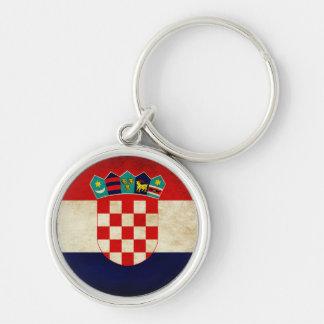 Croatia Flag Key Ring