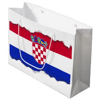 Croatia Flag Large Gift Bag