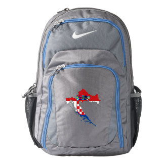 Croatia Flag/Map Backpack