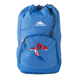 Croatia Flag/Map High Sierra Backpack