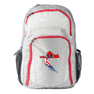 Croatia Flag/Map Nike Performance Backpack