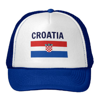 Croatia - Flag of Croatia Cap