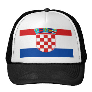Croatia: Flag of Croatia Cap