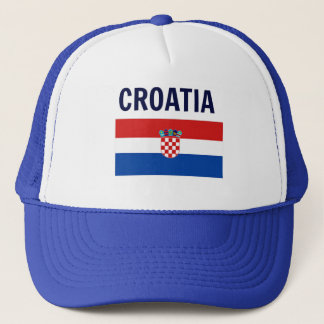 Croatia - Flag of Croatia Trucker Hat