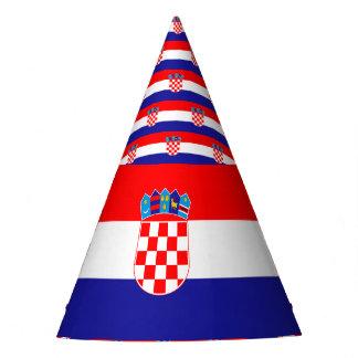 Croatia Flag Party Hat