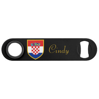 Croatia Flag Personalized