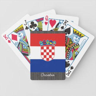 Croatia Flag Playing Cards