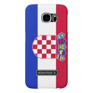 Croatia Flag Samsung Galaxy S6 Cases
