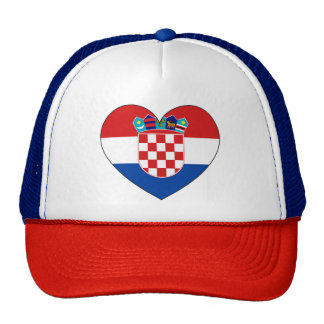 Croatia Flag Simple Cap